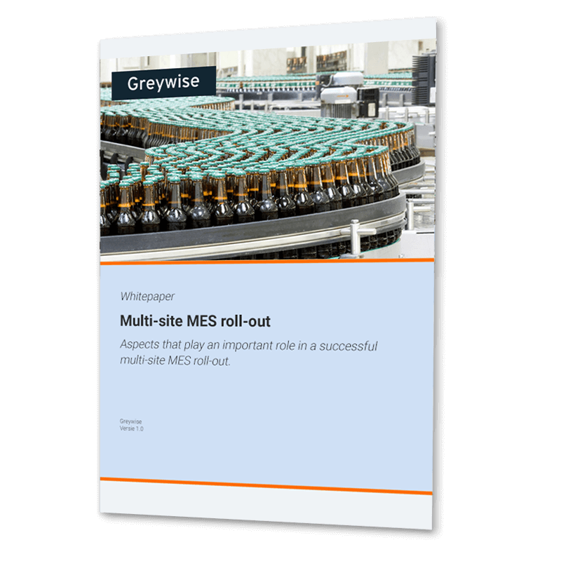 Manufacturing execution system Roll-out